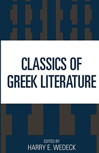 9781442233782: Classics of Greek Literature