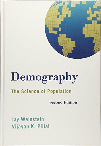 Demography: The Science of Population (Hardback): Jay Weinstein, Vijayan