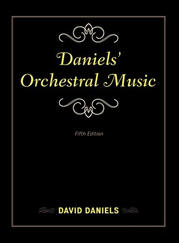 9781442245372: Daniels' Orchestral Music (Music Finders)