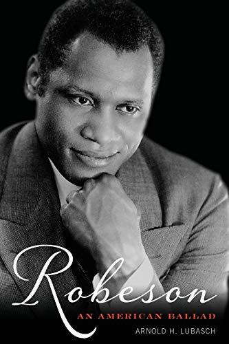 9781442256583: Robeson: An American Ballad