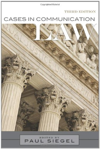 9781442290402: Cases In Communication Law