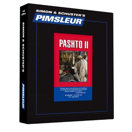9781442338555: Pimsleur Pashto Level 2 CD: Learn to Speak and Understand Pashto with Pimsleur Language Programs (Comprehensive)