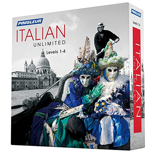 Pimsleur Italian Unlimited, Levels 1-4 (Mixed media product)