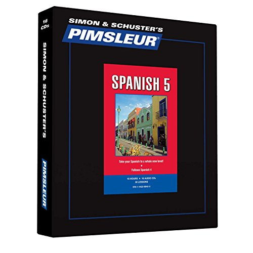9781442368422: Pimsleur Spanish Level 5 CD: Learn to Speak and Understand Latin American Spanish with Pimsleur Language Programs (Comprehensive)