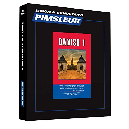 9781442370449: Pimsleur Danish Level 1 CD: Learn to Speak and Understand Danish with Pimsleur Language Programs (Comprehensive)