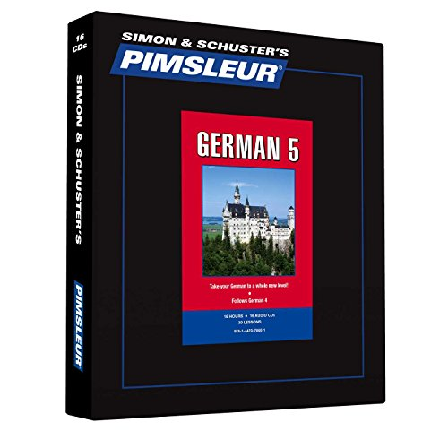 9781442376601: Pimsleur German Level 5 CD: Learn to Speak and Understand German with Pimsleur Language Programs (Comprehensive)