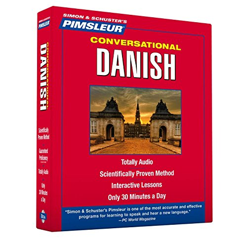 Pimsleur Danish Conversational Course - Level 1 Lessons 1-16: Learn to Speak and Understand Danish ...