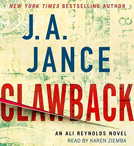 9781442397101: Clawback: An Ali Reynolds Novel