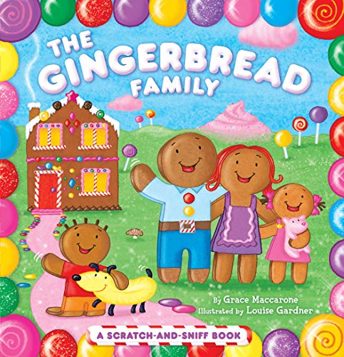9781442406780: The Gingerbread Family: A Scratch-And-Sniff Book