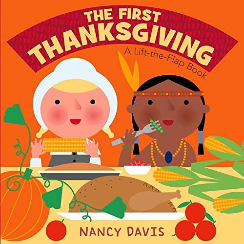The First Thanksgiving (Board Book) (1442408073) by Kathryn Lynn Davis