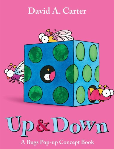9781442408319: Up & Down: A Bugs Pop-up Concept Book (David Carter's Bugs)