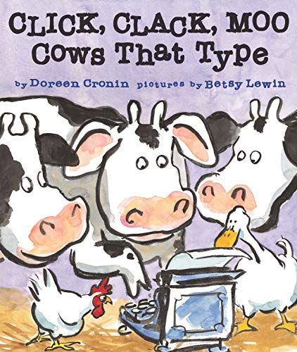 9781442408890: Click, Clack, Moo: Cows That Type (Classic Board Books)