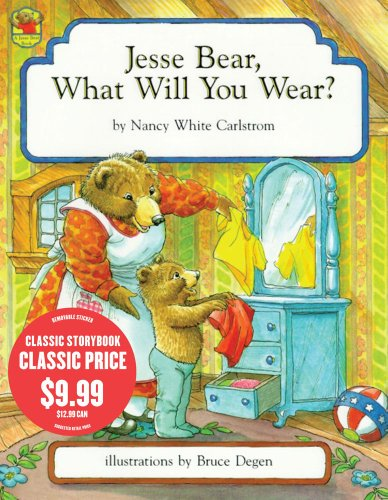 9781442416680: Jesse Bear, What Will You Wear?