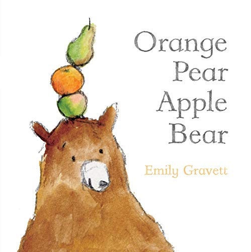 9781442420038: Orange Pear Apple Bear (Classic Board Books)