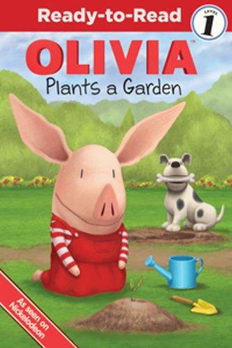 9781442420113: Olivia Plants a Garden (Olivia Ready-to-Read)