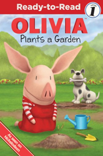 9781442420113: OLIVIA Plants a Garden (Olivia TV Tie-in)