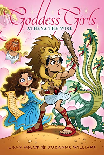 9781442420977: Athena the Wise (Goddess Girls)