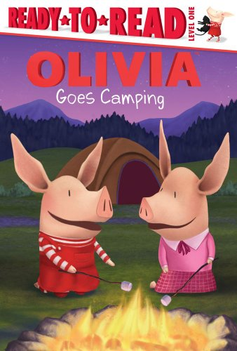 9781442422537: Olivia Goes Camping (Ready-to-Read)