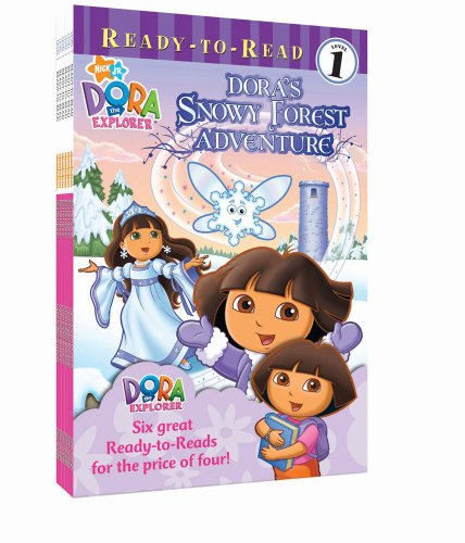 9781442423039: Nick Ready-to-Read Value Pack #1: Dora's Snowy Forest Adventure; Around the World; Just Like Dora; Dora's Picnic; Dora's Sleepover; Say