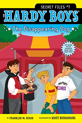 The Disappearing Dog (Hardy Boys: Secret Files): Dixon, Franklin W.