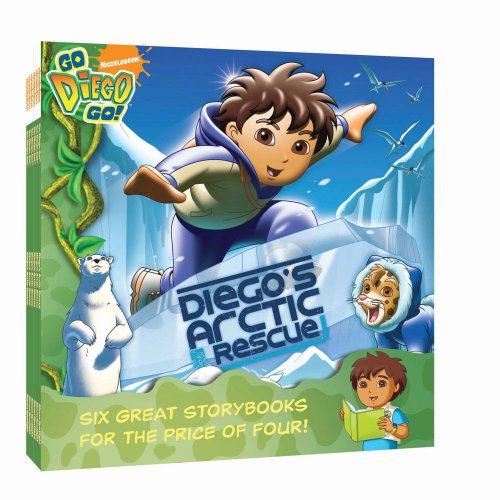 Nick 8x8 Value Pack #2: Diego's Springtime Fiesta; Diego's Arctic Rescue; Extreme Rescue:...