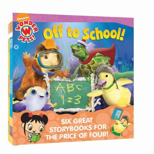 9781442423411: Nick 8x8 Value Pack #4: Baby Bird Rescue; Baby Beaver Rescue; Off to School; Save the Bengal Tiger; Listen with Kai-lan; Meet Kai-lan! (Nickelodeon Wonder Pets!)