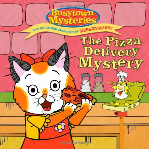 9781442426993: The Pizza Delivery Mystery (Busytown Mysteries)