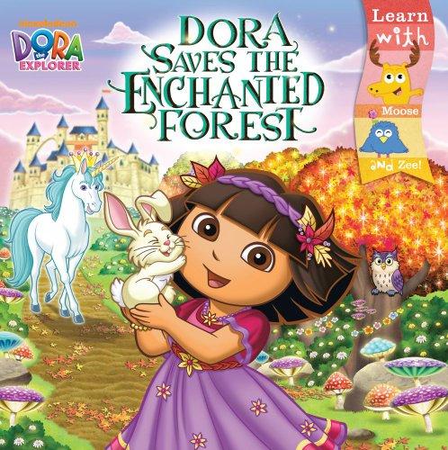 9781442427143: Dora Saves the Enchanted Forest (Dora the Explorer 8x8 (Quality))