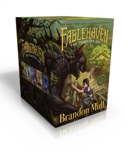 Fablehaven Complete Set (Boxed Set): Fablehaven; Rise of the Evening Star; Grip of the Shadow ...
