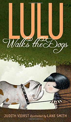 Lulu Walks the Dogs Double Signed: Viorst, Judy