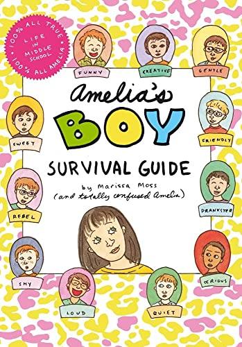 Amelia's Boy Survival Guide: Moss, Marissa