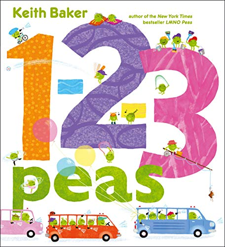 9781442445512: 1-2-3 Peas (The Peas Series)