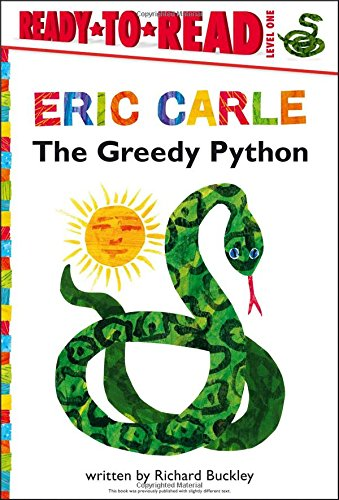 9781442445772: The Greedy Python (Ready-To-Read)