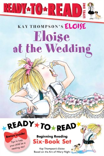 9781442449497: Eloise Ready-to-Read Value Pack: Eloise's Summer Vacation; Eloise at the Wedding; Eloise and the Very Secret Room; Eloise Visits the Zoo; Eloise Throws a Party!; Eloise's Pirate Adventure