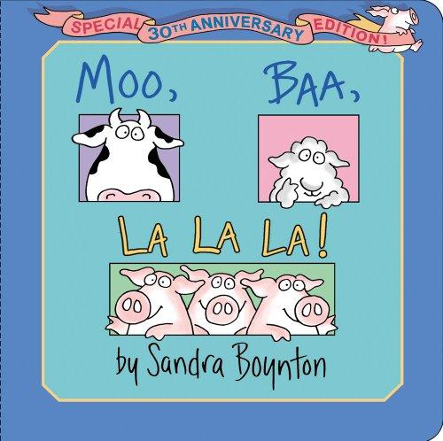 9781442454101: Moo, Baa, La La La!: Special 30th Anniversary Edition!