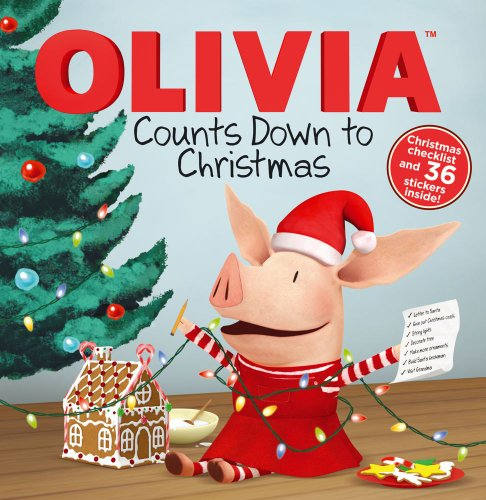 9781442457478: OLIVIA Counts Down to Christmas (Olivia TV Tie-in)