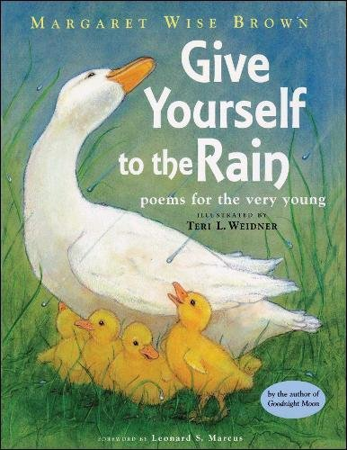 9781442460638: Give Yourself to the Rain: Poems for the Very Young