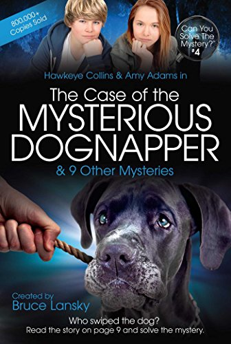 9781442469020: The Case of the Mysterious Dognapper: Can You Solve the Mystery #4
