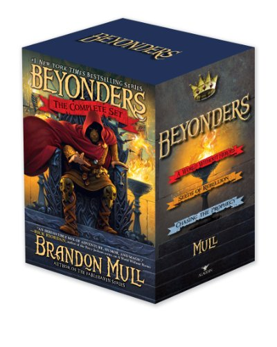 9781442485938: Beyonders The Complete Set: A World Without Heroes; Seeds of Rebellion; Chasing the Prophecy