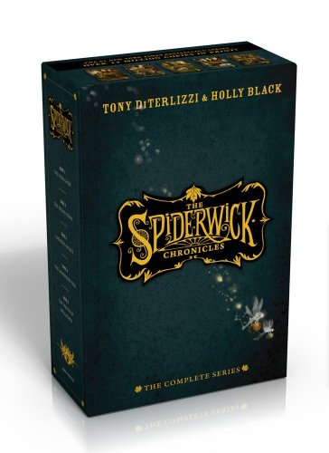 The Spiderwick Chronicles: The Complete Series (1442487984) by Holly Black; Tony DiTerlizzi