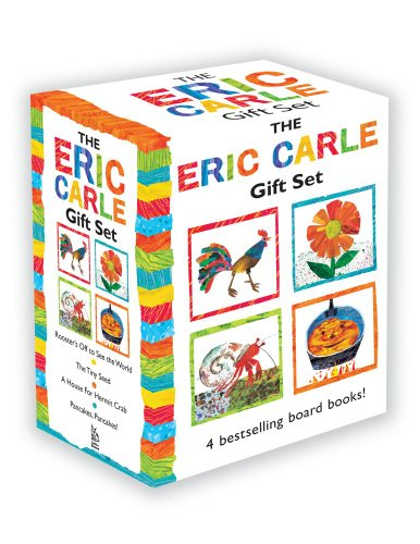 9781442488854: The Eric Carle Gift Set: The Tiny Seed; Pancakes, Pancakes!; A House for Hermit Crab; Rooster's Off to See the World (The World of Eric Carle)