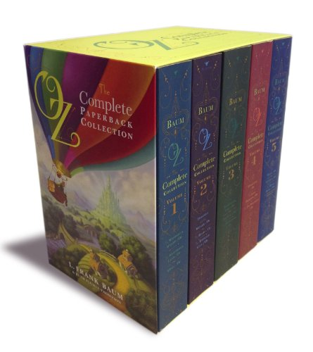 9781442489028: Oz, the Complete Paperback Collection: Oz, the Complete Collection, Volume 1; Oz, the Complete Collection, Volume 2; Oz, the Complete Collection, ... 4; Oz, the Complete Collection, Volume 5