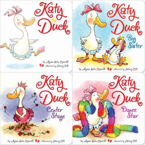 9781442490239: Katy Duck board book 4-pack: Katy Duck; Katy Duck, Big Sister; Katy Duck, Center Stage; Katy Duck, Dance Star