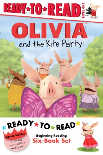 9781442494381: Olivia Ready-to-Read Value Pack #2: Olivia and the Kite Party; Olivia and the Rain Dance; Olivia Becomes a Vet; Olivia Builds a House; Olivia Measures Up; Olivia Trains Her Cat (Olivia TV Tie-in)