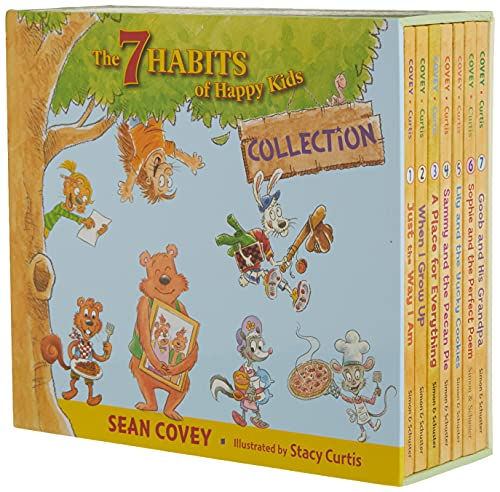 The 7 Habits of Happy Kids Collection: Just the Way I Am; When I Grow Up; A Place for Everything; ...
