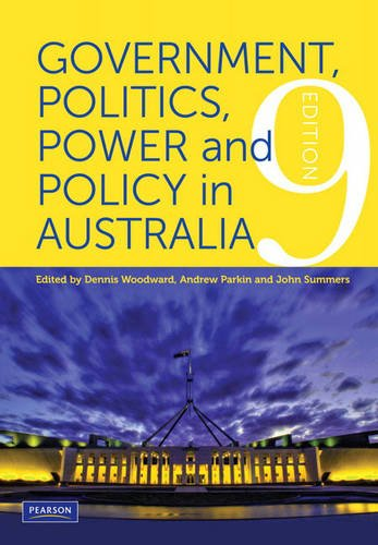 Government, Politics, Power and Policy: Dennis Woodward, Andrew