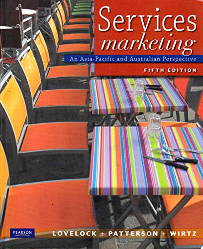 9781442517011: Services Marketing: An Asia-Pacific and Australian Perspective; Fifth Edition