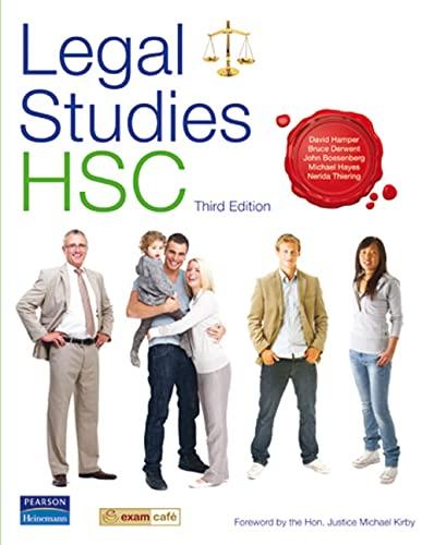 Legal Studies HSC (Paperback): David Hamper