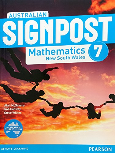 Australian Signpost Mathematics New South Wales 7 Student Book (Paperback): Alan McSeveny