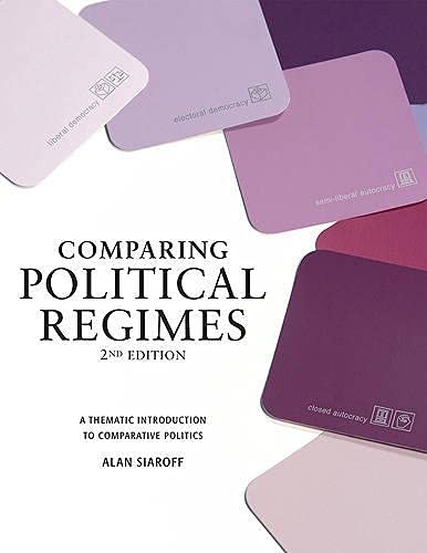 9781442600126: Comparing Political Regimes: A Thematic Introduction to Comparative Politics